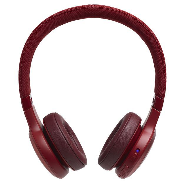JBL LIVE 400BT - Red - Your Sound, Unplugged - Front