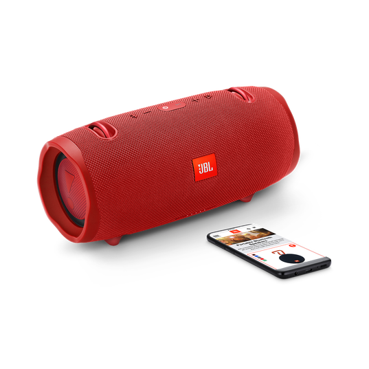 JBL Xtreme 2 - Red - Portable Bluetooth Speaker - Detailshot 1