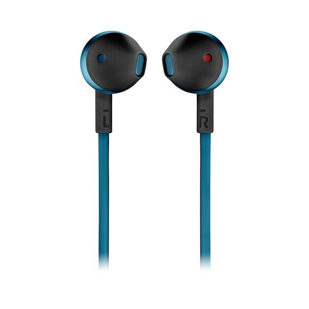 JBL TUNE 205BT - Blue - Wireless Earbud headphones - Front