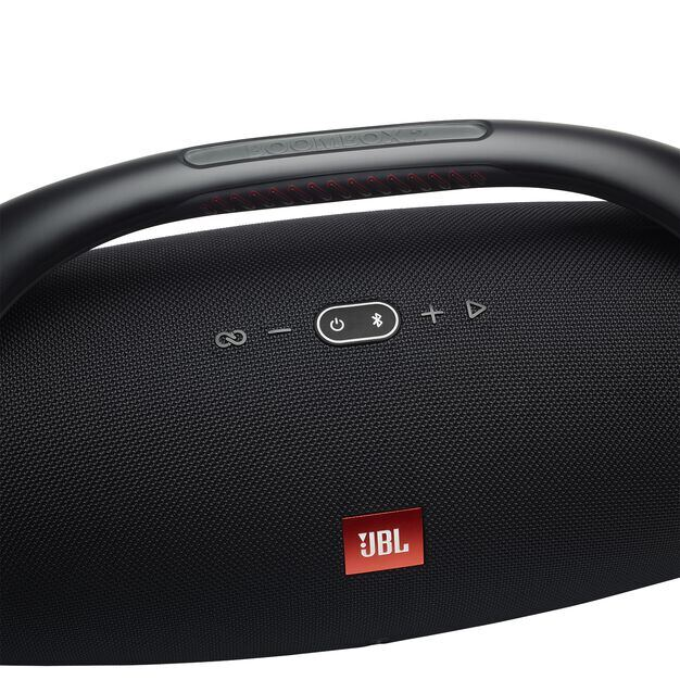 JBL Boombox 2 - Black - Portable Bluetooth Speaker - Detailshot 1