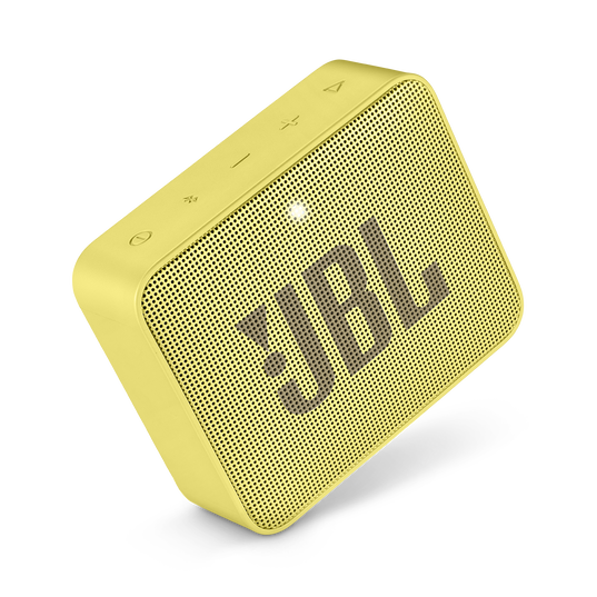 JBL GO 2 - Lemonade Yellow - Portable Bluetooth speaker - Detailshot 1