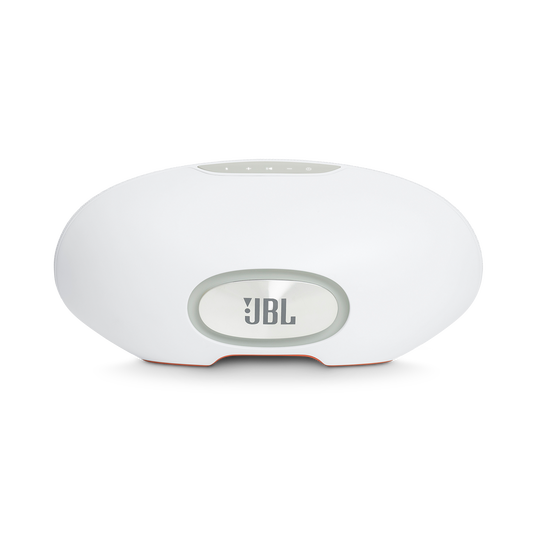 JBL Playlist - White - Wireless speaker with Chromecast built-in - Back