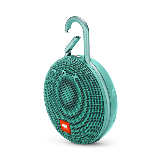 JBL CLIP 3 - River Teal - Portable Bluetooth® speaker - Hero