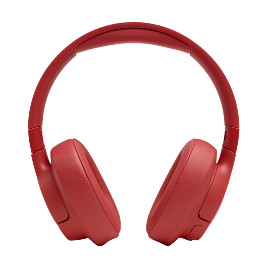 JBL TUNE 700BT - Coral Orange - Wireless Over-Ear Headphones - Detailshot 5