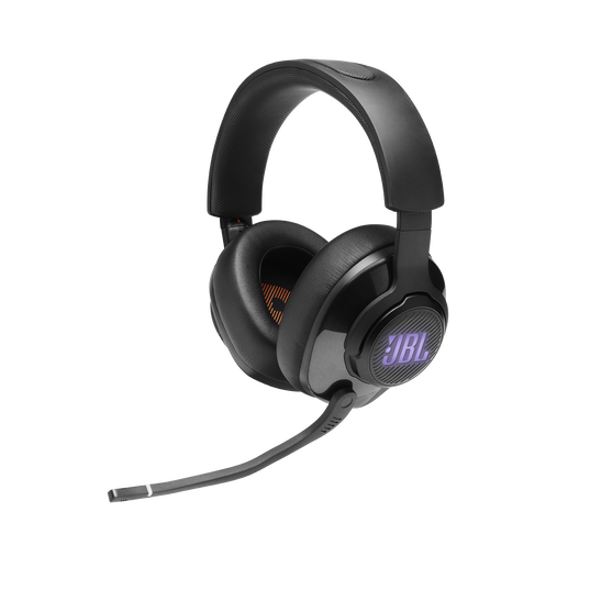 JBL Quantum 400 - Black - USB over-ear gaming headset with game-chat dial - Detailshot 3
