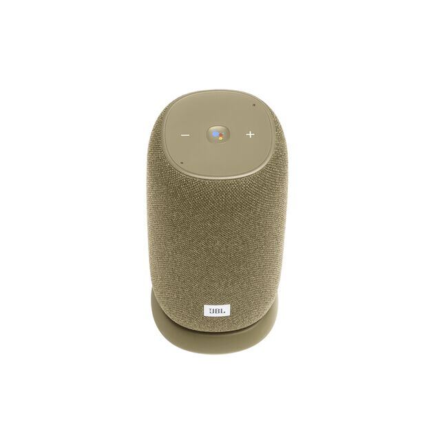 JBL Link Portable - Straw - Portable Wi-Fi Speaker - Front