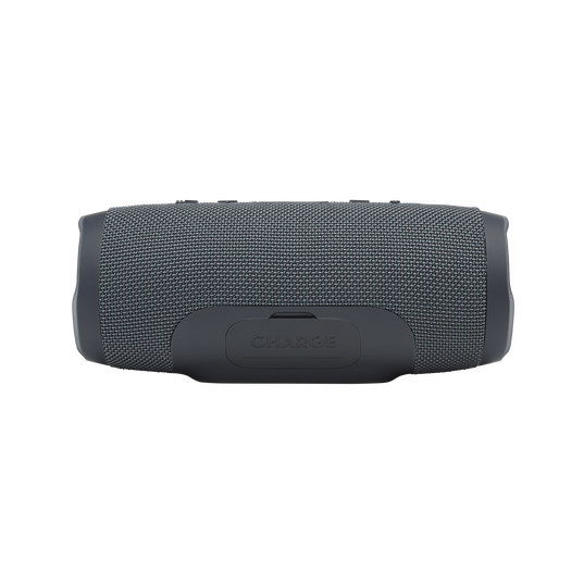 JBL Charge Essential - Gun Metal - Portable waterproof speaker - Back