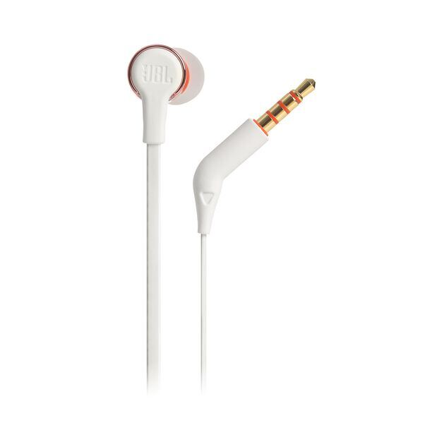 JBL TUNE 210 - Rose Gold - In-ear headphones - Detailshot 2