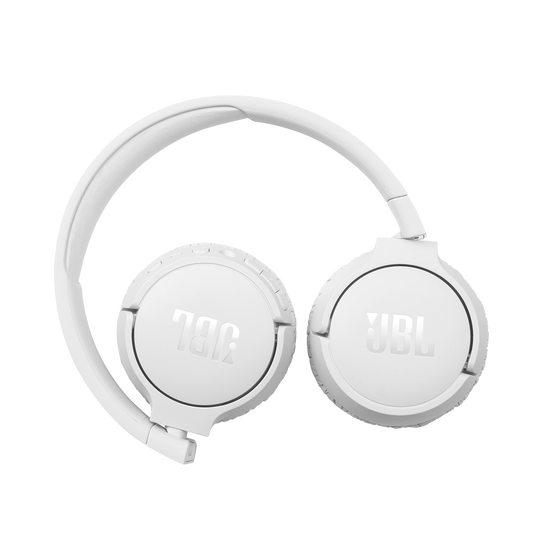 JBL Tune 660NC - White - Wireless, on-ear, active noise-cancelling headphones. - Detailshot 2