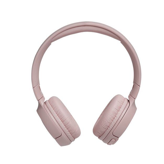 JBL TUNE 500BT - Pink - Wireless on-ear headphones - Front
