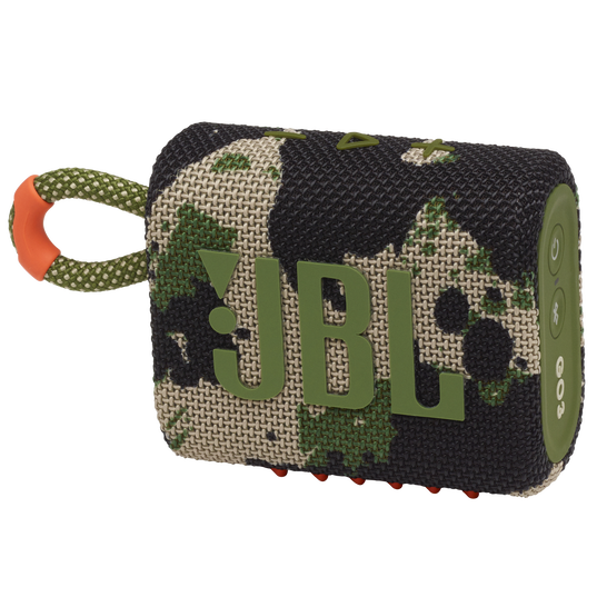 JBL GO 3 - Squad - Portable Waterproof Speaker - Hero