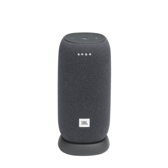 JBL Link Portable - Grey - Portable Wi-Fi Speaker - Hero