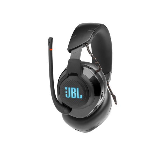 JBL Quantum 600 - Black - Wireless over-ear performance gaming headset with surround sound and game-chat balance dial - Detailshot 1