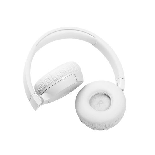 JBL Tune 660NC - White - Wireless, on-ear, active noise-cancelling headphones. - Detailshot 5