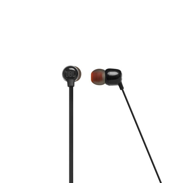 JBL TUNE 115BT - Black - Wireless In-Ear headphones - Front
