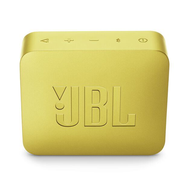 JBL GO 2 - Lemonade Yellow - Portable Bluetooth speaker - Back