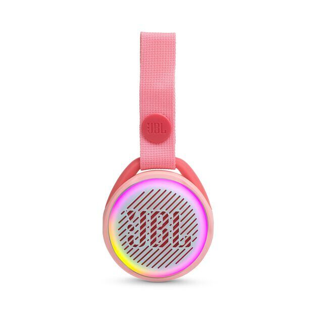 JBL JR POP - Rose Pink - Portable speaker for kids - Front