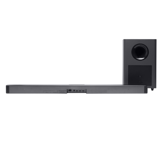 JBL Bar 2.1 Deep Bass - Black - 2.1 channel soundbar with wireless subwoofer - Detailshot 1
