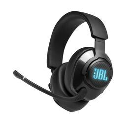 JBL Quantum 400 - Black - USB over-ear gaming headset with game-chat dial - Hero
