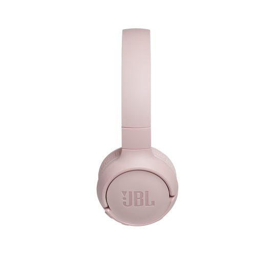 JBL TUNE 500BT - Pink - Wireless on-ear headphones - Left