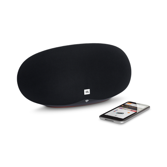 JBL Playlist - Black - Wireless speaker with Chromecast built-in - Detailshot 1
