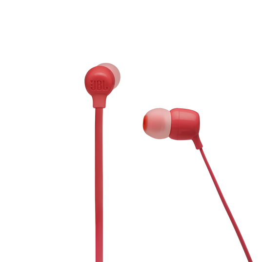 JBL TUNE 125BT - Coral Orange - Wireless in-ear headphones - Detailshot 2