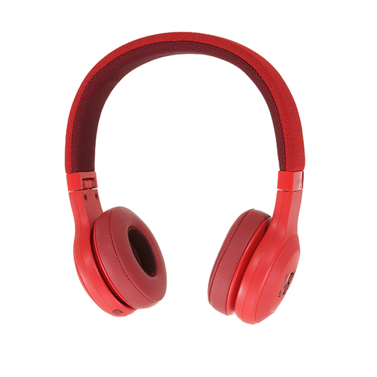 JBL E45BT - Red - Wireless on-ear headphones - Detailshot 15