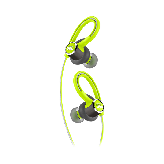 JBL Reflect Contour 2 - Green - Secure fit Wireless Sport Headphones - Detailshot 1