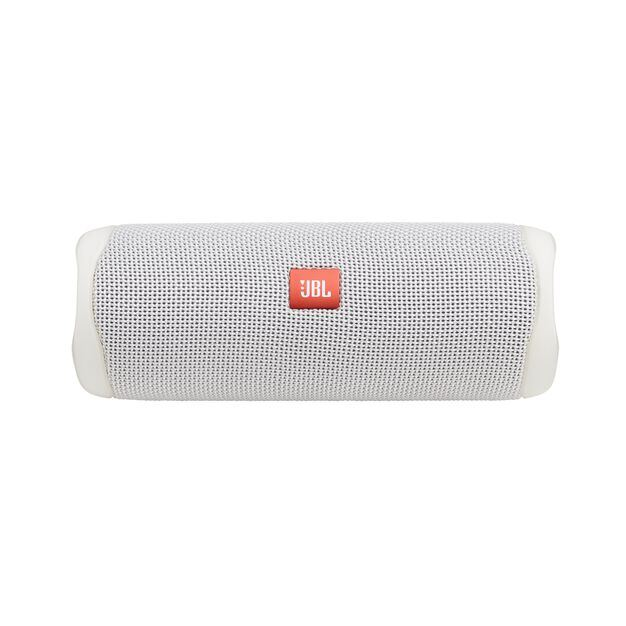 JBL FLIP 5 - White - Portable Waterproof Speaker - Front