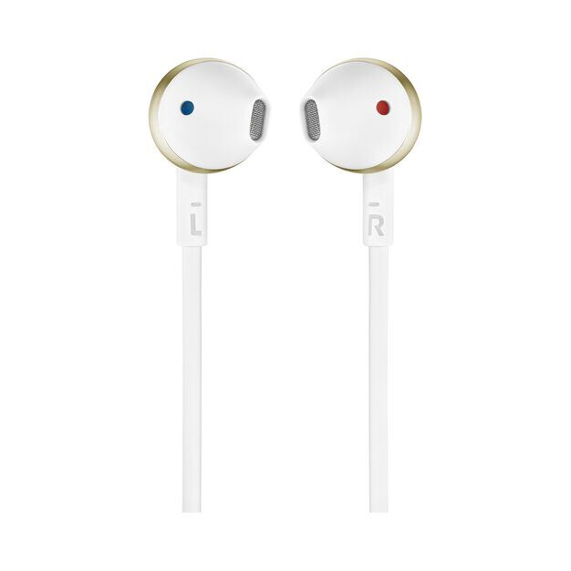 JBL TUNE 205 - Champagne Gold - Earbud headphones - Front